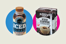 Mammoth Iced Coffee; Nippy's Iced Coffee. Photos / Doug Sherring