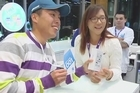 Lydia Ko was at Auckland's Telecom launch of the iPhone5, grabbing one herself, as well as showing off her mini golf skills.
