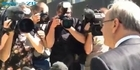 Watch: Len Brown's first public appearance since affair