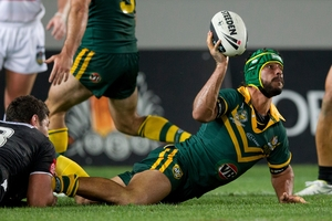 Johnathan Thurston reckons this will be his last World Cup. Picture / Brett Phibbs