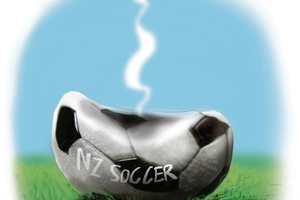 Fifa and New Zealand Football need to get their heads together to work out something more consistently exciting for the game here. Image / Rod Emmerson