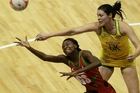 Mwai Kumwenda (left) has helped put Malawi on the netball map.Picture/ Getty Images