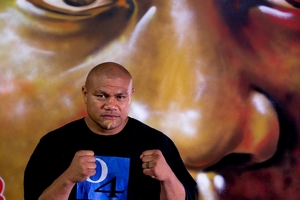 David Tua is over his calf injury and set for next month's fight. Photo / Dean Purcell