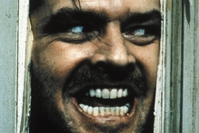 Jack Nicholson in the 'The Shining'.