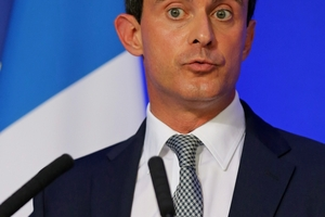 Manuel Valls, the Interior Minister, is a rising star in the Socialist Government. Picture / AP