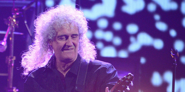 Brian May. Photo / AP