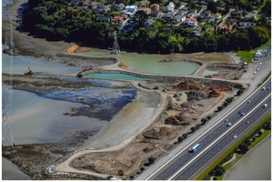 When finished, Onehunga Bay will have swimming beaches. Photo / Onehunga Enhancement Society