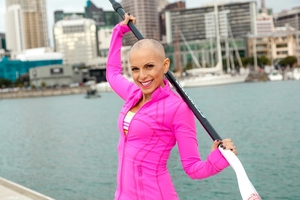 Karin Horen will be all dressed in pink with her teammates for the relay next Saturday.