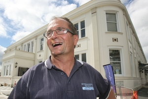 SURPRISED: Graham McClymont has been named Masterton deputy mayor. PHOTO/LYNDA FERINGA