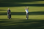 England's Ross Fisher is well placed in Perth but hopes for bigger rewards on the European PGA Tour. Photo / Getty Images