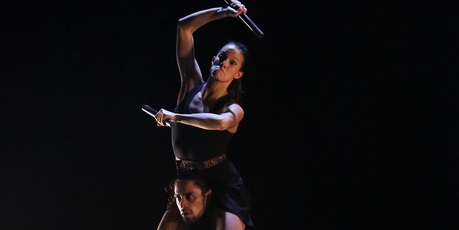 Atamira Dance Company. Photo / Carl Gordon