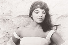 Joan Collins in her early days as an actress.