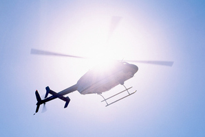 Four helicopters were sent to the scene, including one carrying paramedics and crash rescue medics.