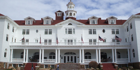 The Stanley Hotel, which inspired Stephen King's 'The Shining'. Photo / Creative Commons image via Wikimedia