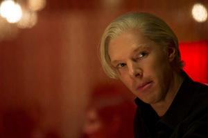 Benedict Cumberbatch as Julian Assange in The Fifth Estate. Photo / AP