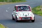 Rotorua rally driver Mike Lowe's 1964 Fiat in action at the Targa Rotorua Rally. Photo / File