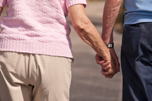 Keep holding hands with your partner.Photo / Thinkstock