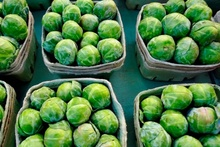 Green veggies like brussel sprouts are full of goodness.Photo / Thinkstock