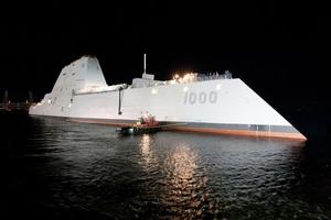The USS Zumwalt. Photo / Creative Commons