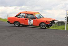 Enjoying their day in the Metalman Classic class  were Peter Dudson and Dave Hannah  in their Fiat 131R. Photo / groundsky.co.nz