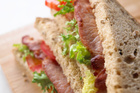 Adding bacon to a sandwich makes it taste better.Photo / Thinkstock