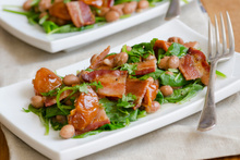 Bacon make everything better. It's a popular addition to salad.Photo / Thinkstock