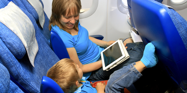 Under the change, devices still must be switched to aircraft mode at all times. Photo / Thinkstock
