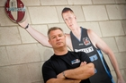 Coach Dean Vickerman says Gary Wilkinson (in poster) will provide a huge boost. Photo / Richard Robinson