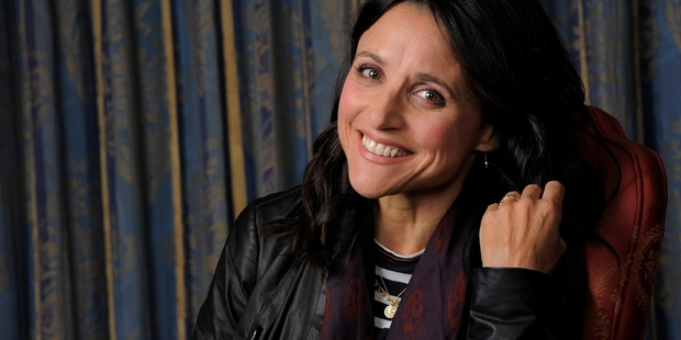 Julia Louis-Dreyfus found herself in the same position as her character in Enough Said.