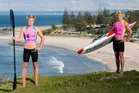 Mount Maunganui lifeguards Hamish Treanor (left) and Sam Shergold have just returned from conquering the Coolangatta Gold. Photo / Jamie Troughton/Dscribe Media