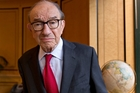 Alan Greenspan says while the US central bank made mistakes under his tenure, he rates its record then as