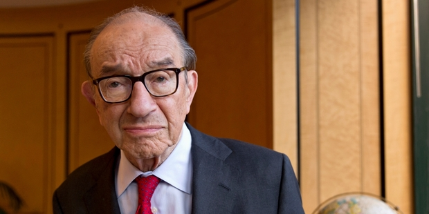 "Alan Greenspan says while the US central bank made mistakes under his tenure, he rates its record then as ""fairly good"". Photo / AP"