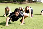 Boot camps are a great way to stay in shape.