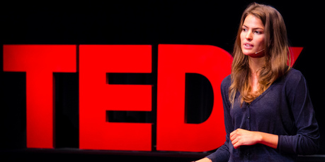 Cameron Russell give her TedX talk on beauty.Photo / Creative Commons