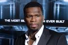 50 Cent. Photo / AP