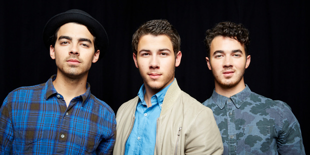 The Jonas Brothers are breaking up. Photo / AP