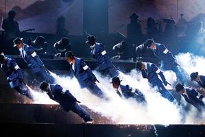 The Smooth Criminal lean from Cirque du Soleil's Michael Jackson show.