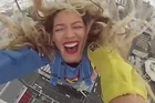 After being treated to an honorary Haka dance, world famous pop superstar Beyonce went skyjumping in Auckland, New Zealand. Courtesy: YouTube/Beyonce