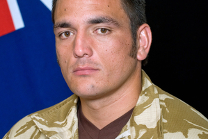 Luke Tamatea's family said he had loved being in the army.