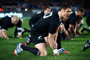 The one blemish on the All Blacks' record in these two years was the end-of-season defeat at Twickenham last year. Photo / Getty Images