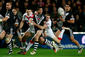 New Zealand's Kevin Locke, center, will be out in force again. Photo / Getty Images