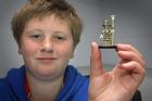 Thorsteinn Bjornsson got lucky with a Lego man worth $1500.