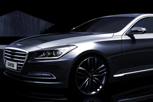 The all-new right hand drive Hyundai Genesis is due for international release early next year. Photo / Supplied
