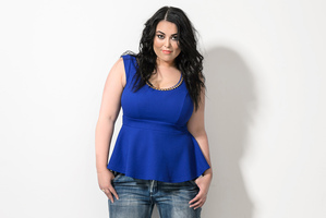 At a healthy size 16, Miss Thompson said she loved the way she looked.