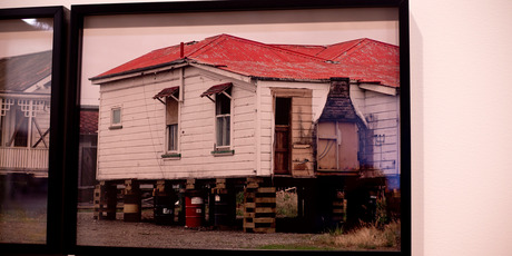 Photos by Allan McDonald that is part of the Freedom Farmers exhibition. Photo / Dean Purcell