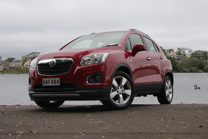 The Holden Trax. Photo / David Linklater