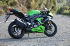 The Kawasaki ZX636R handles commutes and podium finishes with ease. Pictures/ Jacqui Madelin