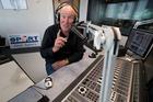 Murray Deaker in the Newstalk ZB studio. Photo / Richard Robinson.