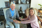 Frank Nieuwenhuis receives  $200 from Christine Rose via her Facebook friends.