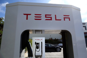 Tesla now has 18 charging stations in the US and plans to open more.Picture / Getty Images